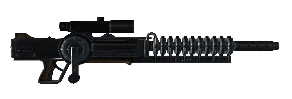 Scoped Gauss Rifle