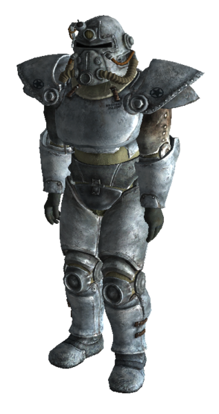 Winterized T-51b Power Armor (Fallout 3)